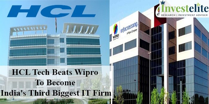 HCL Tech beats Wipro to become India's third-biggest IT Firm