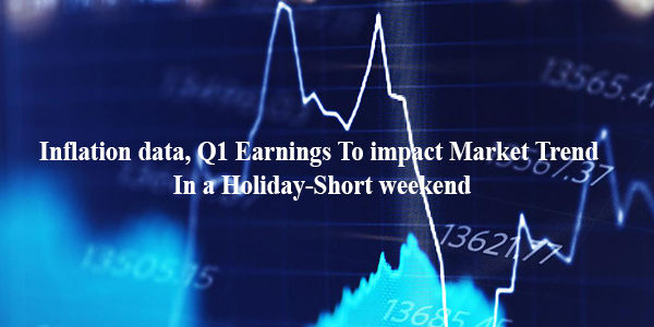 Inflation data, Q1 Earnings To impact Market Trend In a Holiday-Short weekend