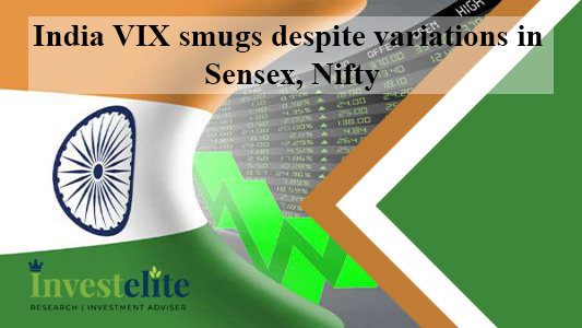 India VIX smugs despite variations in Sensex, Nifty