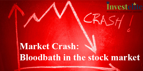 Market Crash: Bloodbath in the stock market