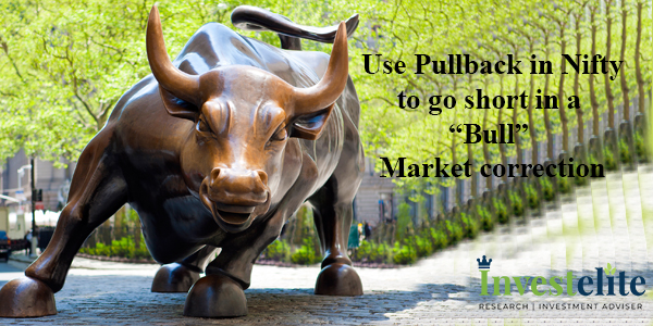 "Use Pullback in Nifty to go short in a ""Bull"" Market correction"