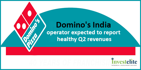 Domino's India operator expected to report healthy Q2 revenues