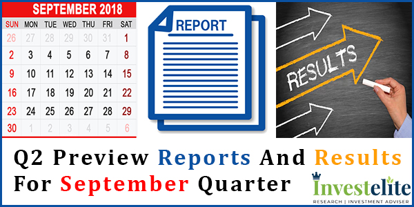 Q2 Preview reports and results for September Quarter