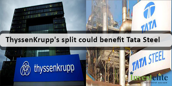 ThyssenKrupp's split could benefit Tata Steel