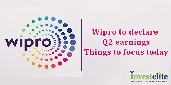 Wipro to declare Q2 earnings: Things to focus today
