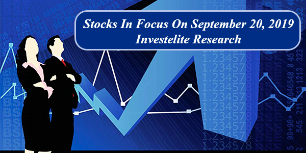 Stocks In Focus 20-09-2019 | Stock In Focus Today