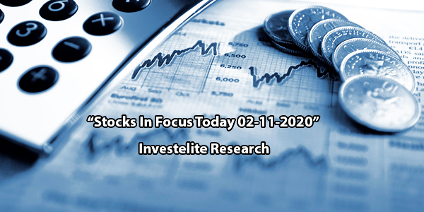 """Stocks In Focus Today 02-11-2020"" – Investelite Research"